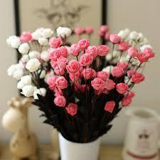 honana dx f1 15pcs head fake rose bouquets party artificial