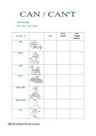 printable worksheets english tenses can cant headway beginner 4th edition pinterest worksheets