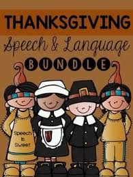 81 best thanksgiving speech therapy ideas images on