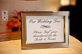 tree signing for wedding fingerprint thumbprint tree guestbook alternative wedding