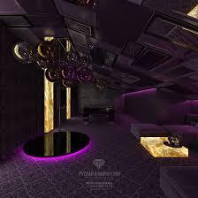 attic design with billiard and dance floor photos interior