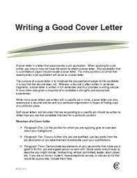 what is a good cover letter for a resume very good cover letter 7