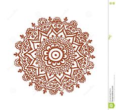 ornate circle mandala indian henna tattoo mehendi ethnic