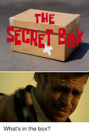 Whats In The Box Meme - the secre what s in the box boxing meme on sizzle