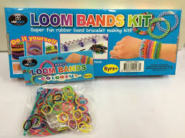 loom bands kit colourful rubber bands bracelet making kids girls
