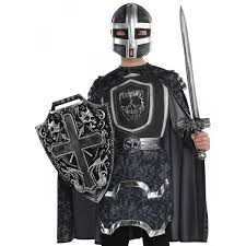 child knight costume armor shield helmet sword set