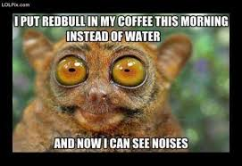 I Can See Sounds Meme - i put redbull in my coffee this morning instead of water and