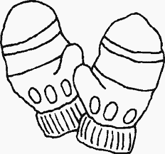 mittens free printable winter coloring pages