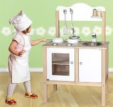 kinderk che holz combi küche kinderküche spielküche in weiss mit zubehör aus