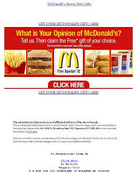mcdonalds e gift card your 50 coupon to mcdonald s inside not