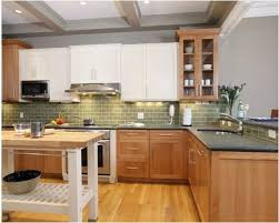 white and wood kitchen cabinets popular again wood kitchen cabinets centsational style
