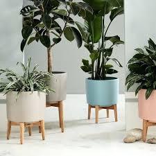 planters indoor metal hanging planters indoor planter stands