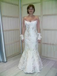 magasin robe de mariã e marseille robe de cérémonie forme siréne tout en dentelle de calais cortège