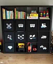 kallax ideas storage organization kids toy storage ideas with ikea kallax 15