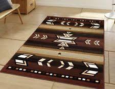 Area Rugs Southwestern Style Brown Native American Area Rugs Ebay