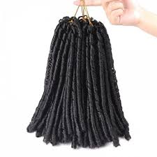 extension braids black dreadlocks crochet braids synthetic hair extension