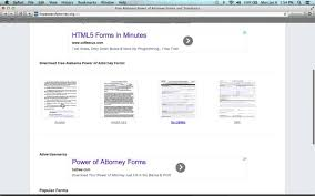 Power Of Attorney Forms Free Download by How To Write An Alabama Power Of Attorney Form Youtube
