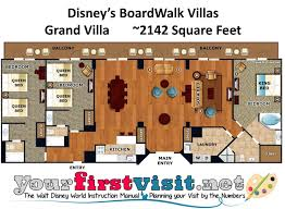 disney boardwalk villas floor plan accommodations and theming at disney s boardwalk villas disney s