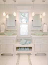 Above Vanity Lighting Bathroom Sink White Bathroom With Pendant Lighting Vanity Above