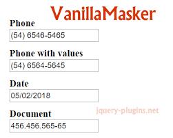 format date javascript jquery input format jquery plugins
