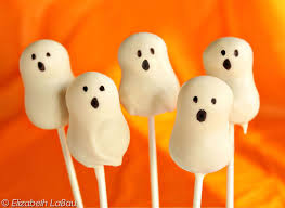 Halloween Cake Balls Recipe by Spooky And Festive Ghost Cake Pops Recipe