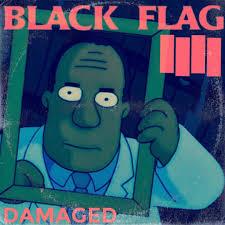 Black Flag American Waste The Simpsons Punk Rock Album Cover Mashups We U0027ve All Been
