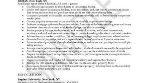Realtor Resume Samples by Realtor Job Description Real Estate Agent Job Description Pdf