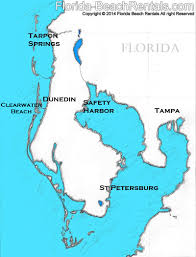 Florida Map With Towns by Top Towns To Visit On Your Clearwater Beach Vacation