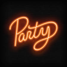 neon party party neon gif by malaea find on giphy