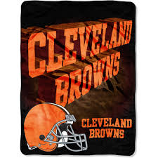 Cleveland Browns Home Decor by Nfl Browns 60x80 Micro Raschel Blanket Walmart Com