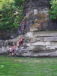 homes for sale on table rock lake arkansas beaver ar jumping off cliff in middle of lake go here every year