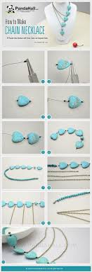 make beaded chain necklace images 39 fabulous diy necklaces that will rock your world beads jpg