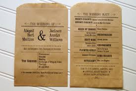 kraft paper wedding programs for you unique wedding programs set of 115 custom flat