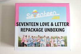 8 by 10 photo albums kpop album unboxing 8 seventeen letter repackage album