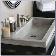 Bathroom Trough Sink Bathroom Trough Sinks Canada Bathroom Home Decorating Ideas