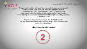 acls megacode series video 4 by acls certification institute youtube