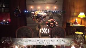 do it yourself christmas decorations with steve jan youtube