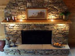 decor u0026 tips alluring stone fireplaces bring nature to your home