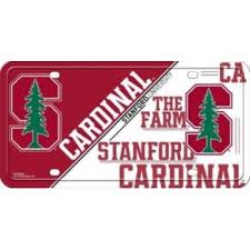 stanford alumni license plate frame stanford
