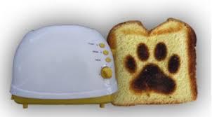 Fun Toaster Fun Pawprint Toaster Petslady Com