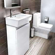 Bathroom Sink Vanity Units Uk - aqua cabinets compact cloakroom floorstanding vanity unit uk