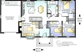 bungalow house plans with basement two bedroom house plans for small land large garage modern