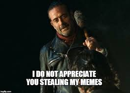 My Meme Maker - negan lol imgflip