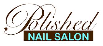 polished nails salon clean chic creative