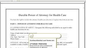 What Is A Durable Power Of Attorney For Health Care by Durable Power Of Attorney For Health Care Youtube
