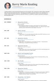 Cv Or Resume Sample by Teacher Resume Samples Visualcv Resume Samples Database