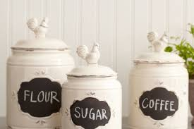 kitchen canisters set of 4 9 country canisters for kitchen sears strawberry country kitchen