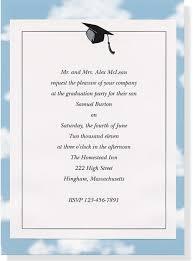college graduation announcement wording invitation sles for graduation party save high school graduation