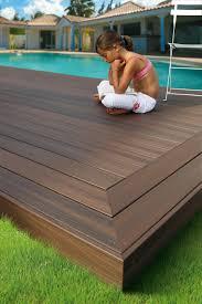 plastic outdoor decking home u0026 gardens geek