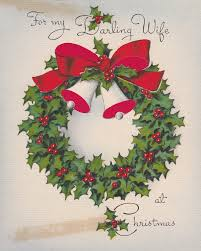 we wish you a merry on vintage cards the